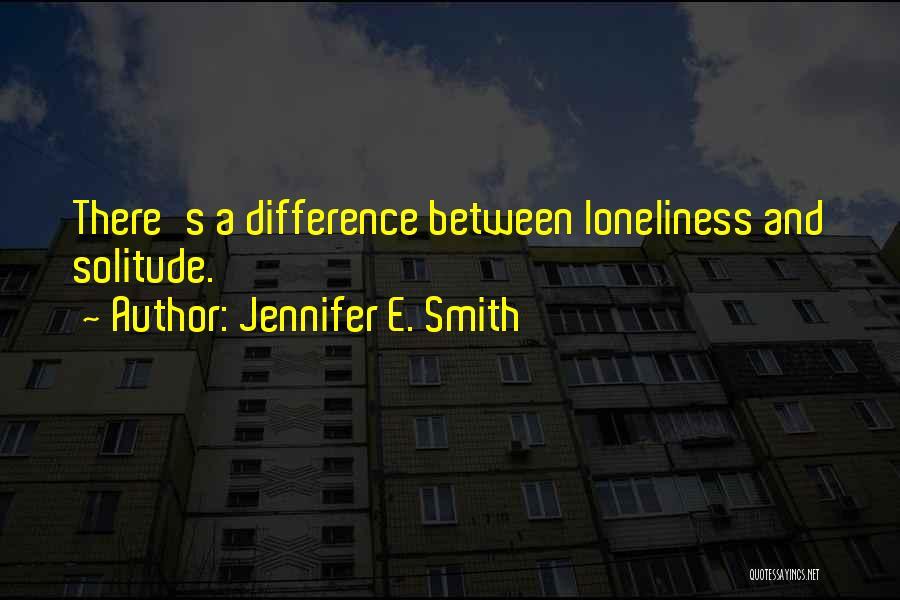 Jennifer E. Smith Quotes 1564871