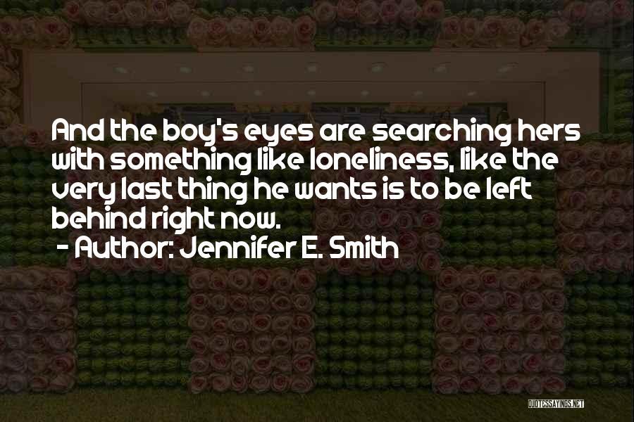Jennifer E. Smith Quotes 253394