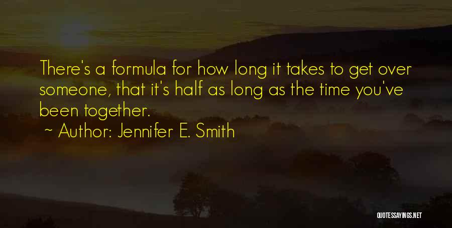 Jennifer E. Smith Quotes 349457