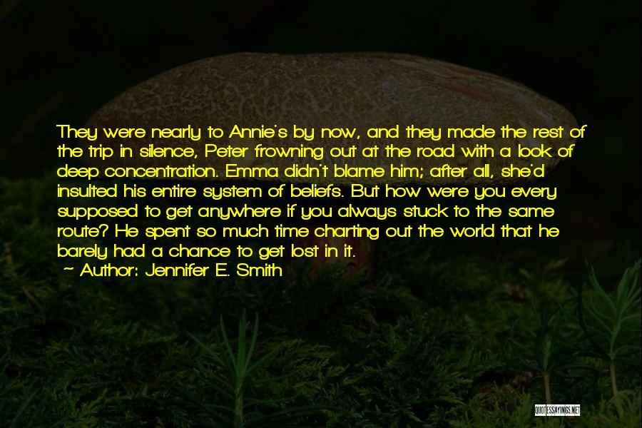 Jennifer E. Smith Quotes 816239