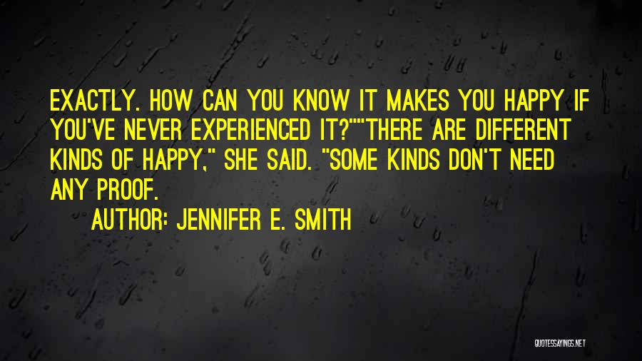 Jennifer E. Smith Quotes 840301