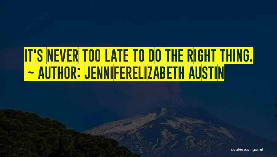 JenniferElizabeth Austin Quotes 1252820