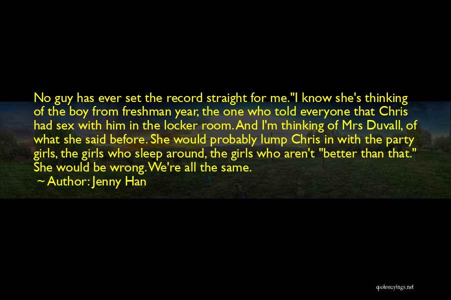 Jenny Han Quotes 1009363