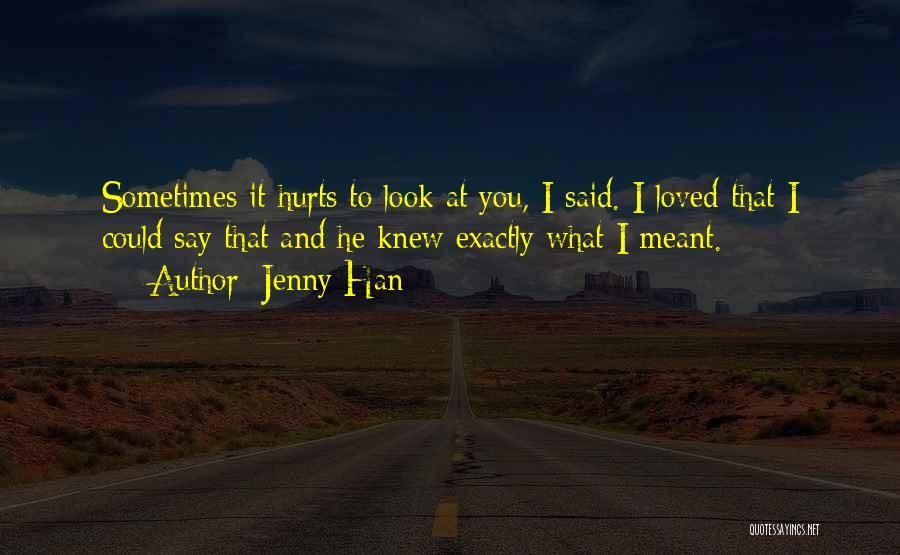 Jenny Han Quotes 1191769