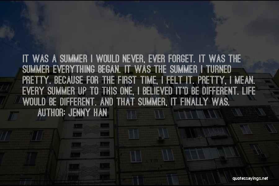 Jenny Han Quotes 1257582