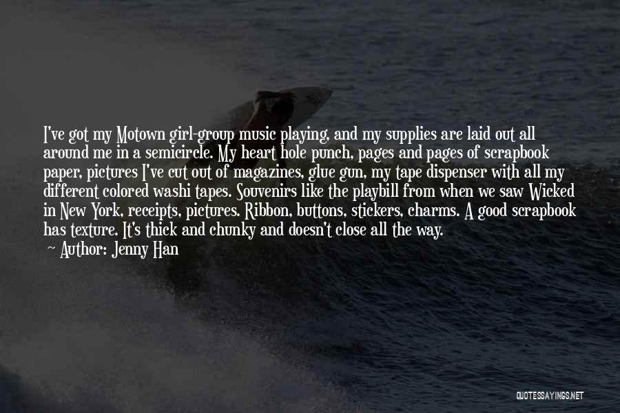 Jenny Han Quotes 1509290
