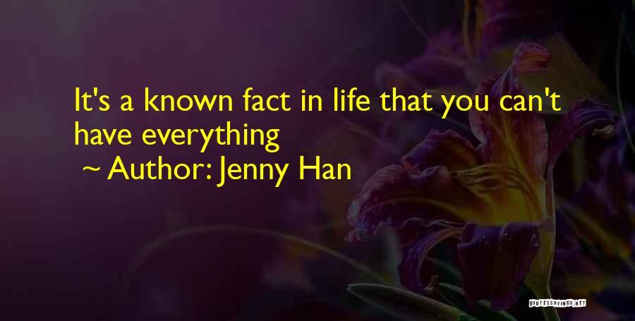 Jenny Han Quotes 247887