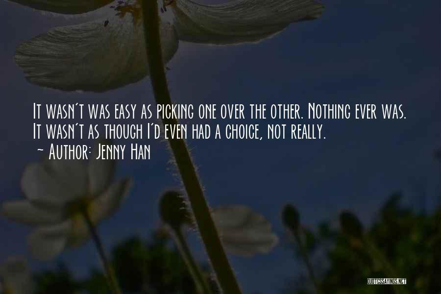 Jenny Han Quotes 451608