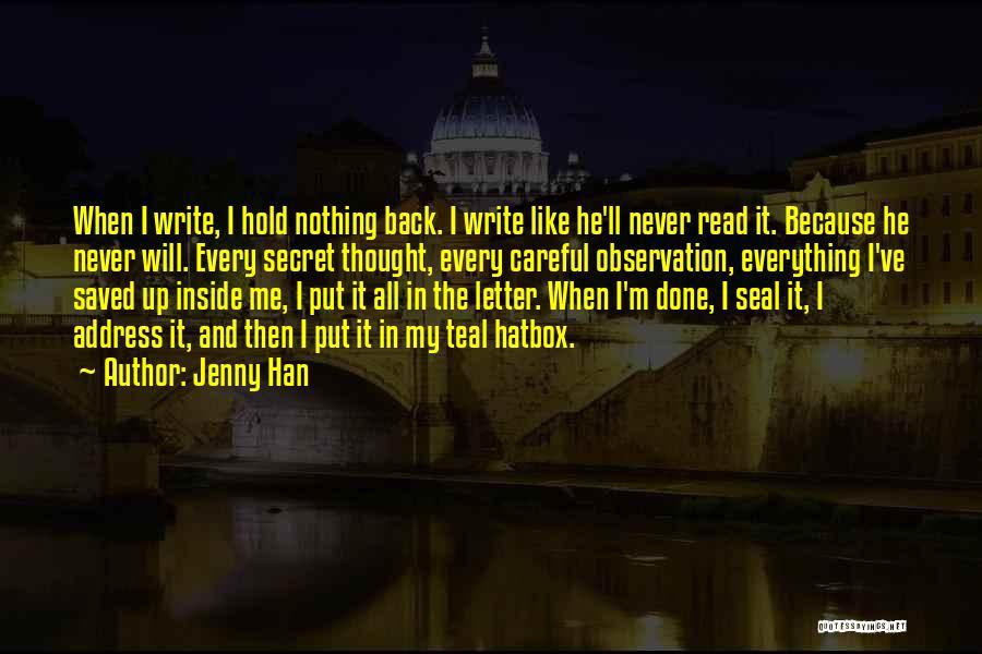 Jenny Han Quotes 581199