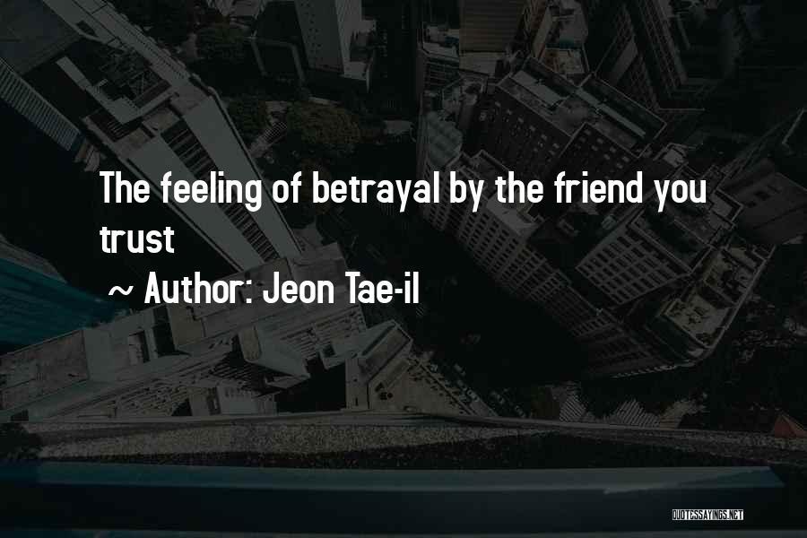 Jeon Tae-il Quotes 762830