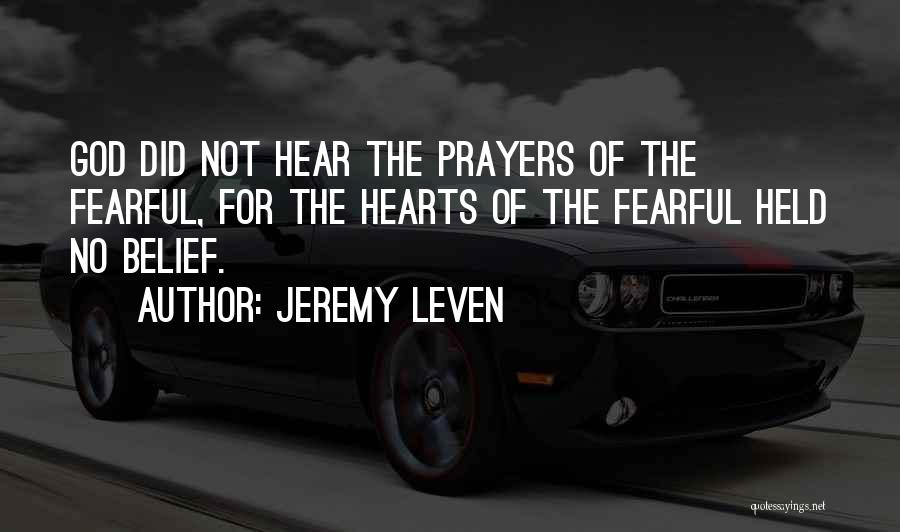 Jeremy Leven Quotes 1475627