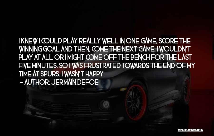 Jermain Defoe Quotes 598721