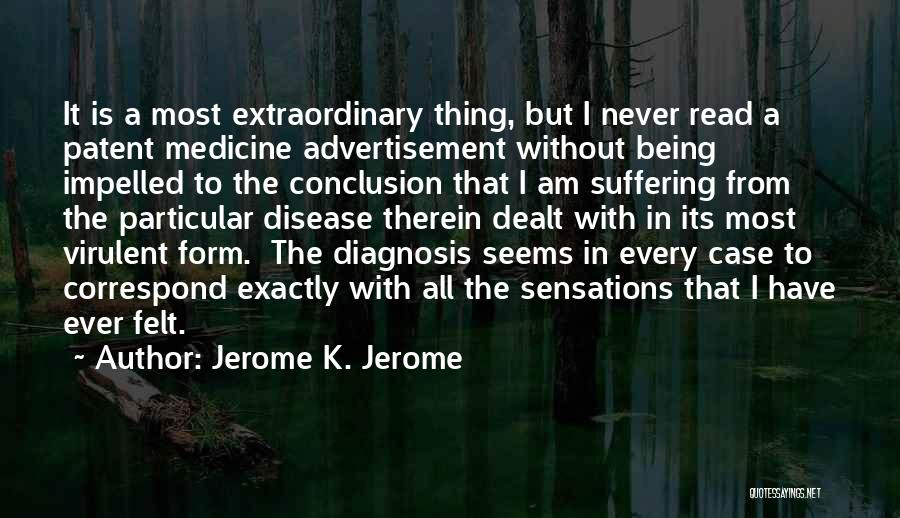 Jerome K. Jerome Quotes 325178