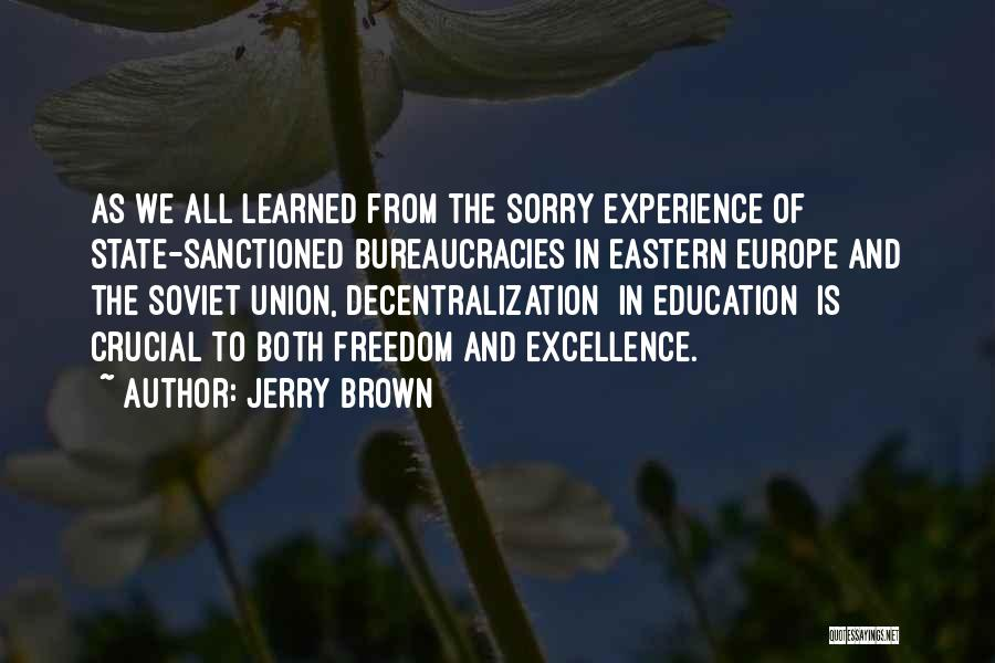 Jerry Brown Quotes 1294409