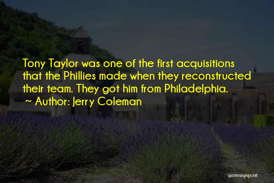 Jerry Coleman Quotes 1933036