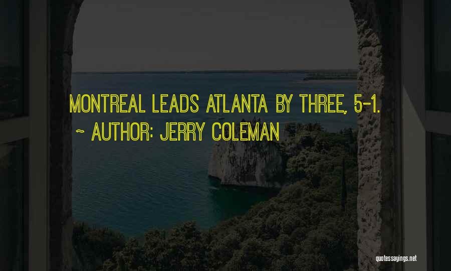 Jerry Coleman Quotes 842298