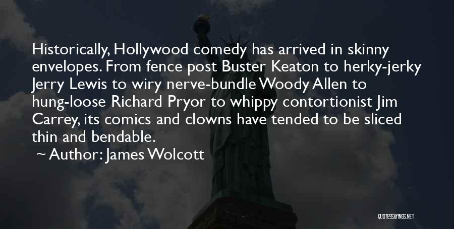 Jerry Lewis Comedy Quotes By James Wolcott