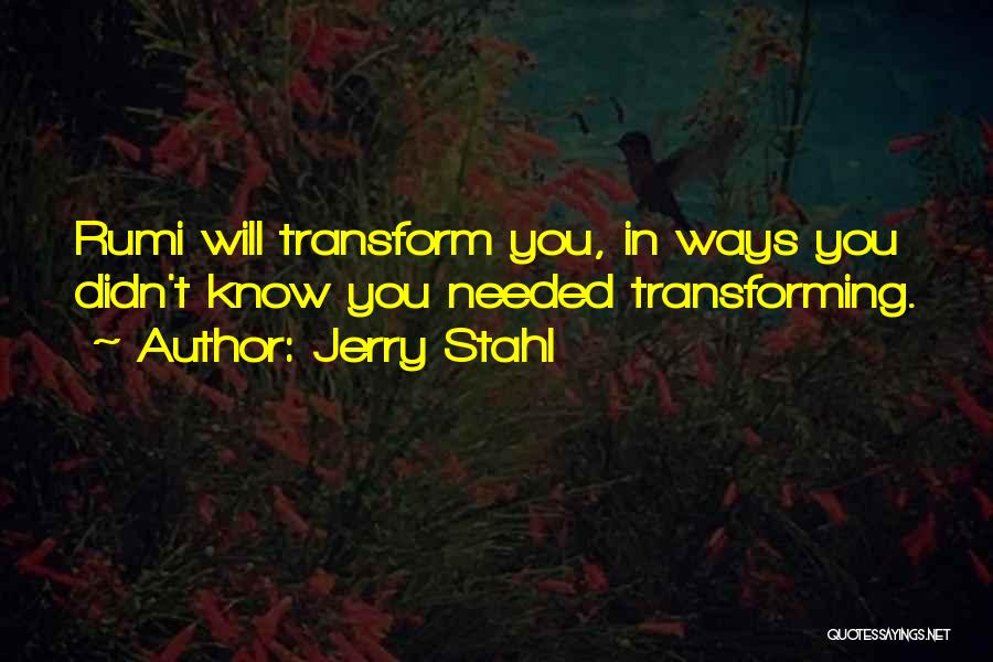 Jerry Stahl Quotes 846344