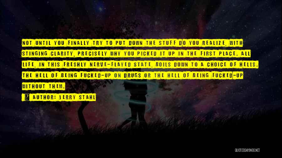 Jerry Stahl Quotes 879934