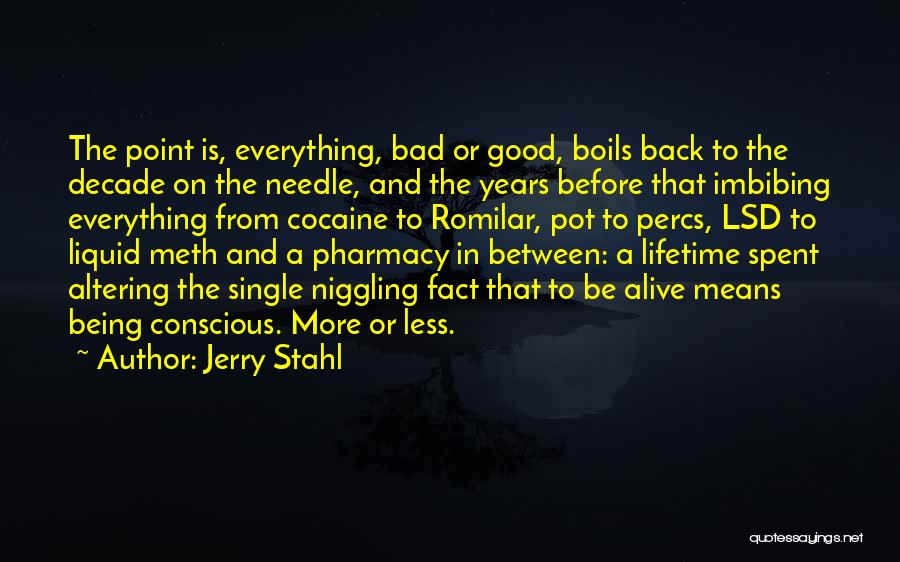 Jerry Stahl Quotes 957266