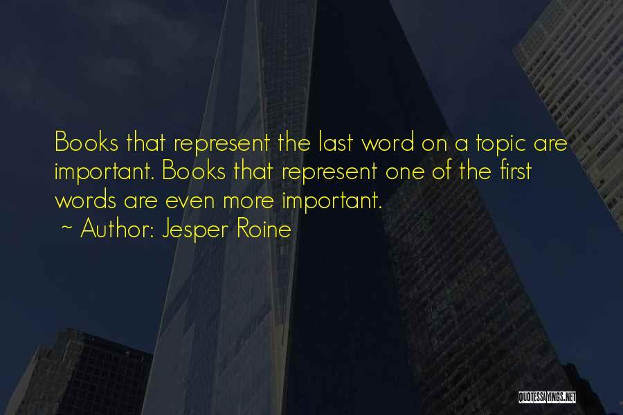 Jesper Quotes By Jesper Roine