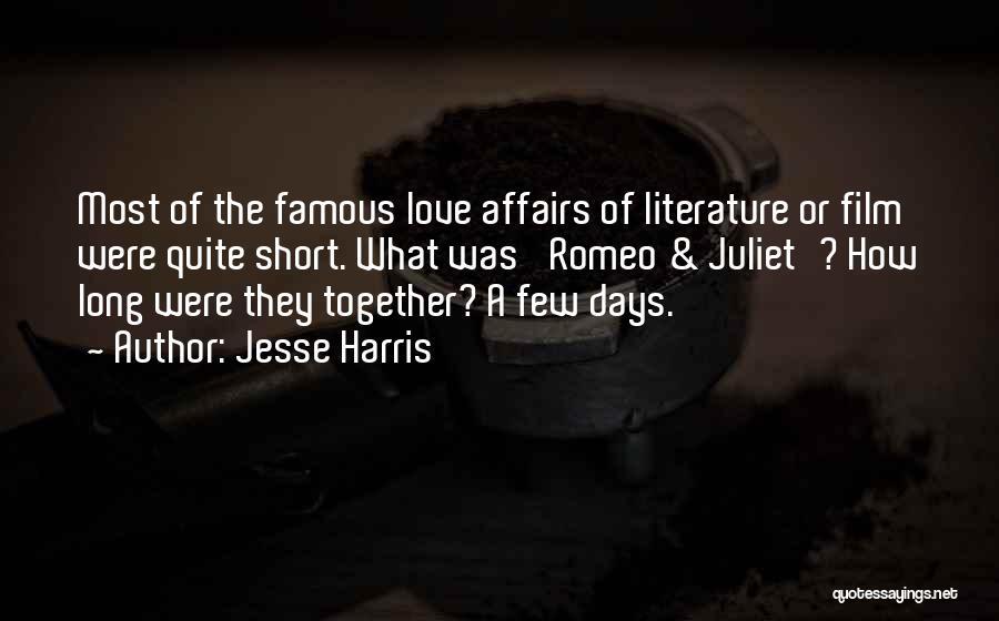 Jesse Harris Quotes 1107099