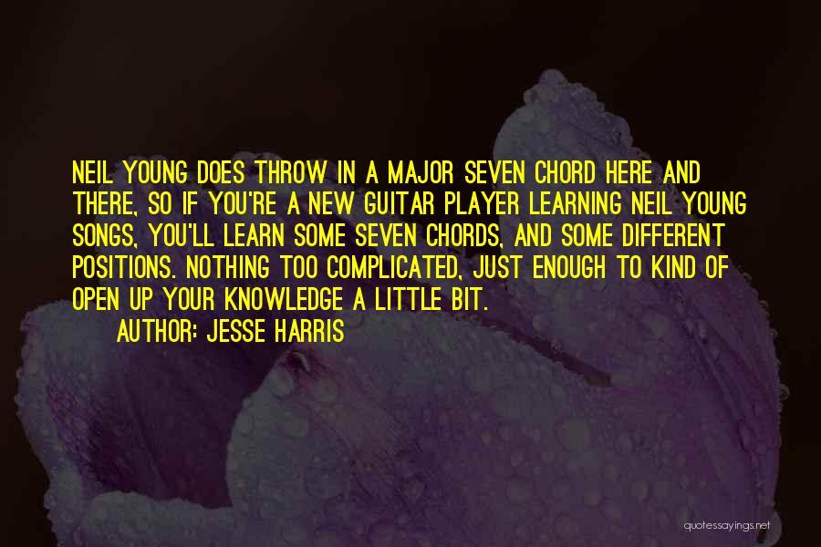 Jesse Harris Quotes 1139330