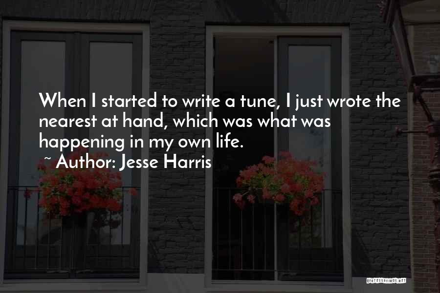 Jesse Harris Quotes 1494797