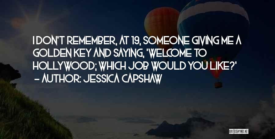 Jessica Capshaw Quotes 918989