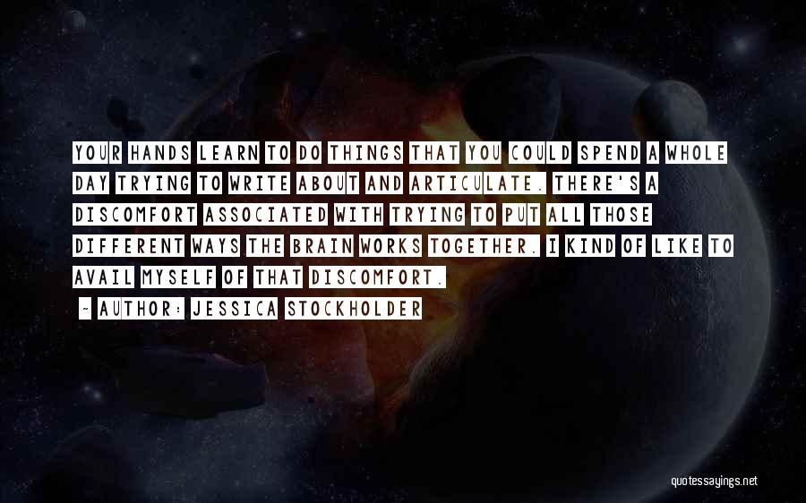 Jessica Stockholder Quotes 2060102