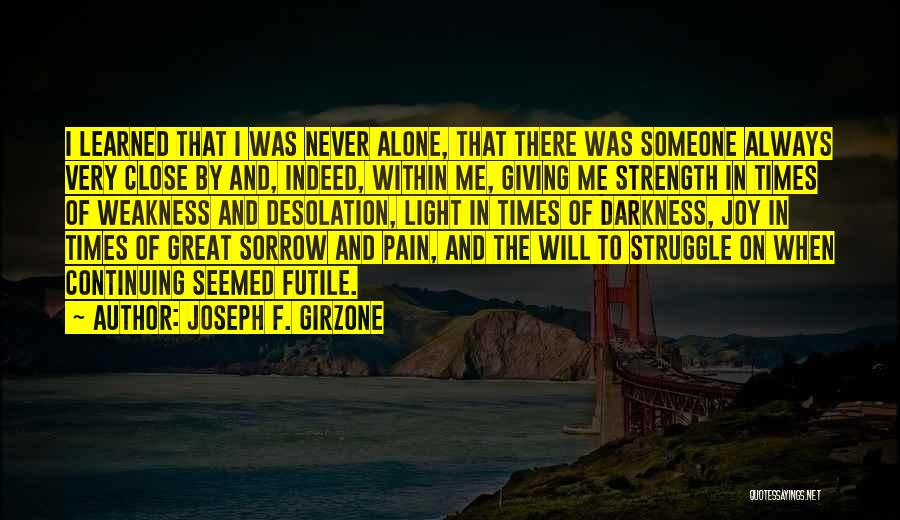 Jesus And Light Quotes By Joseph F. Girzone