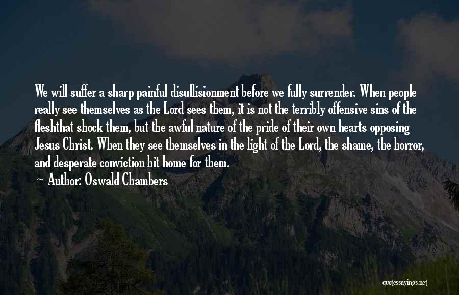 Jesus And Light Quotes By Oswald Chambers