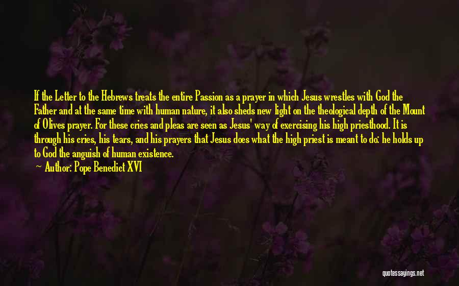 Jesus And Light Quotes By Pope Benedict XVI