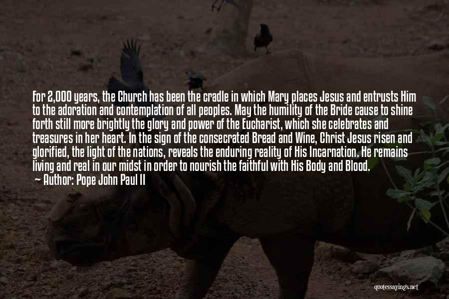 Jesus And Light Quotes By Pope John Paul II