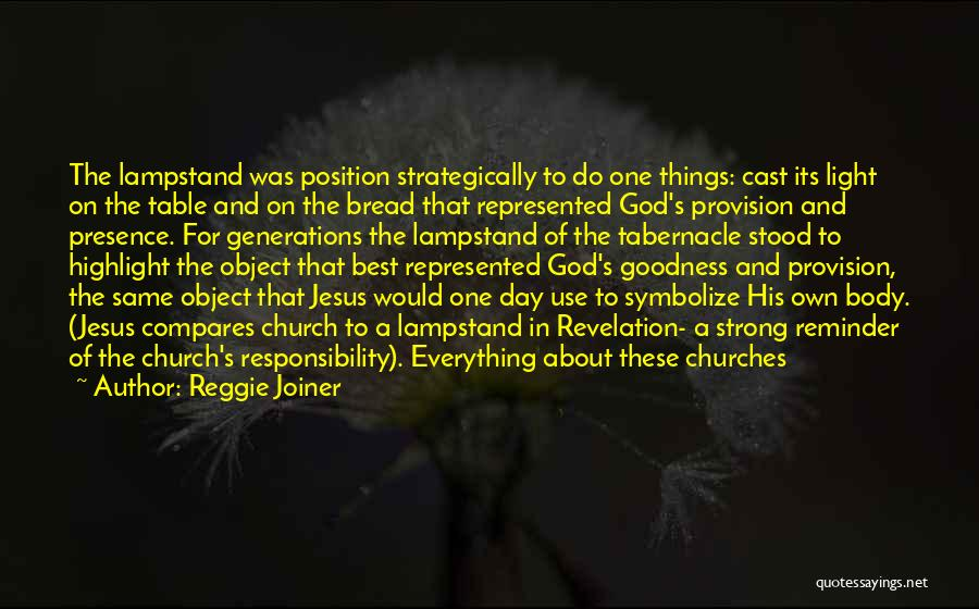 Jesus And Light Quotes By Reggie Joiner
