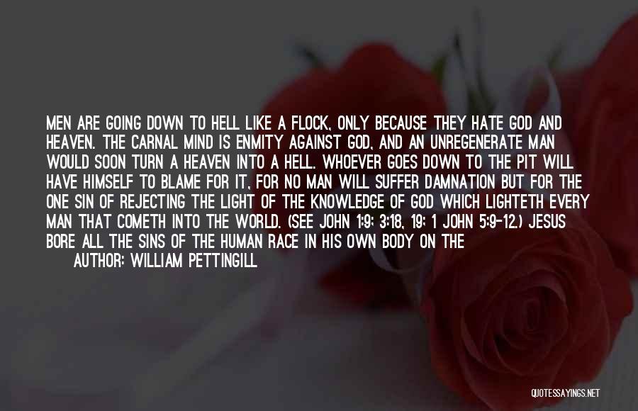 Jesus And Light Quotes By William Pettingill