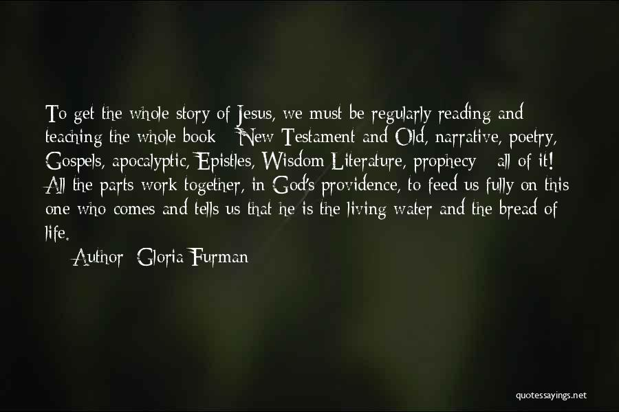 Jesus As The Living Water Quotes By Gloria Furman
