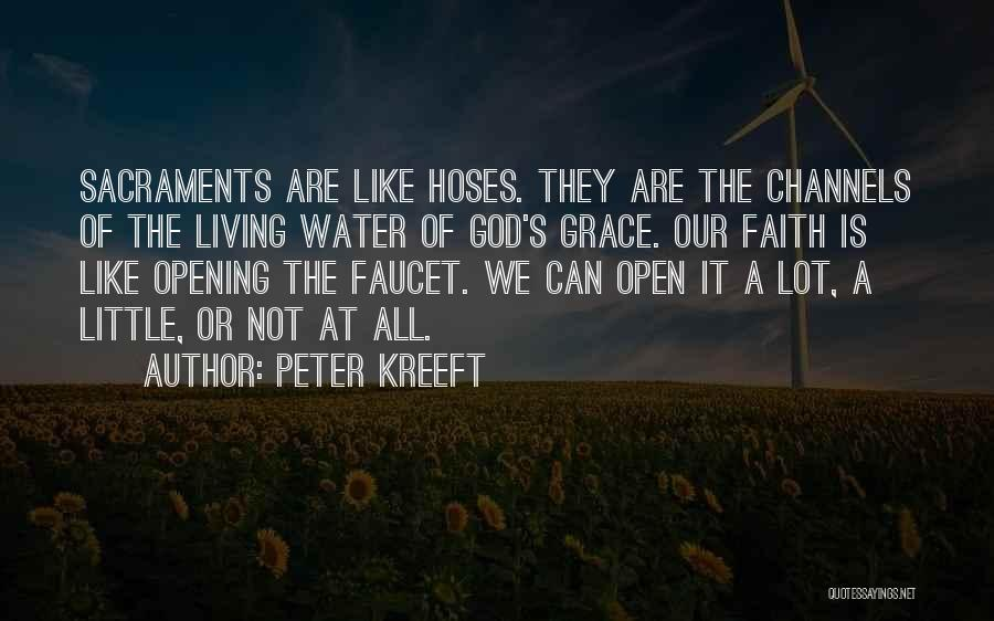 Jesus As The Living Water Quotes By Peter Kreeft