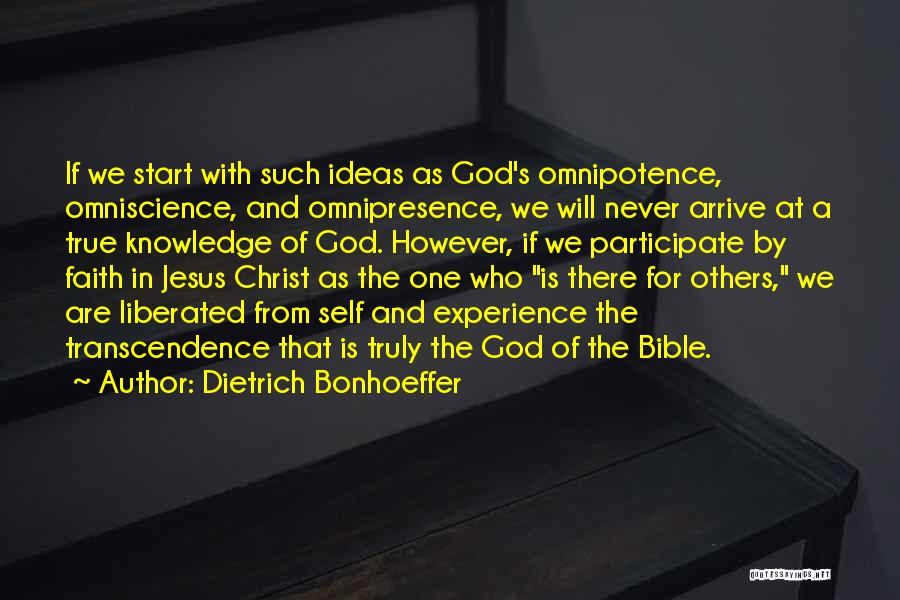 Jesus Christ From The Bible Quotes By Dietrich Bonhoeffer