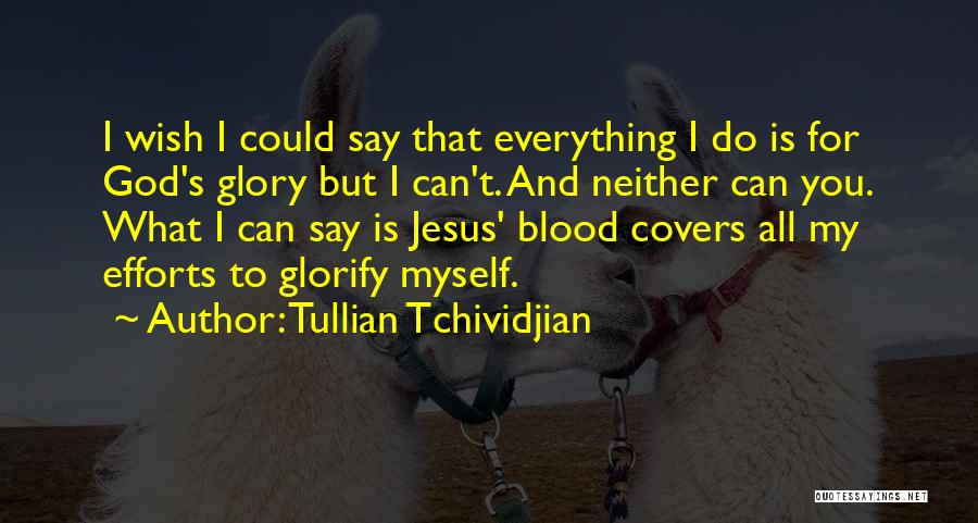 Jesus Is My All Quotes By Tullian Tchividjian
