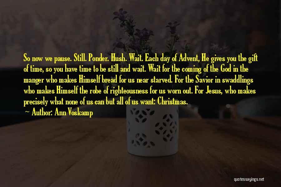 Jesus Manger Quotes By Ann Voskamp