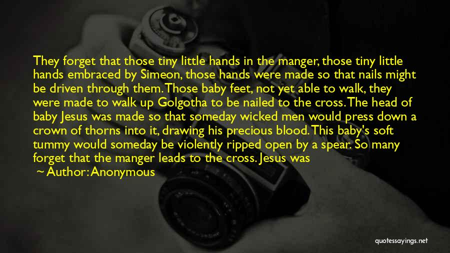 Jesus Manger Quotes By Anonymous