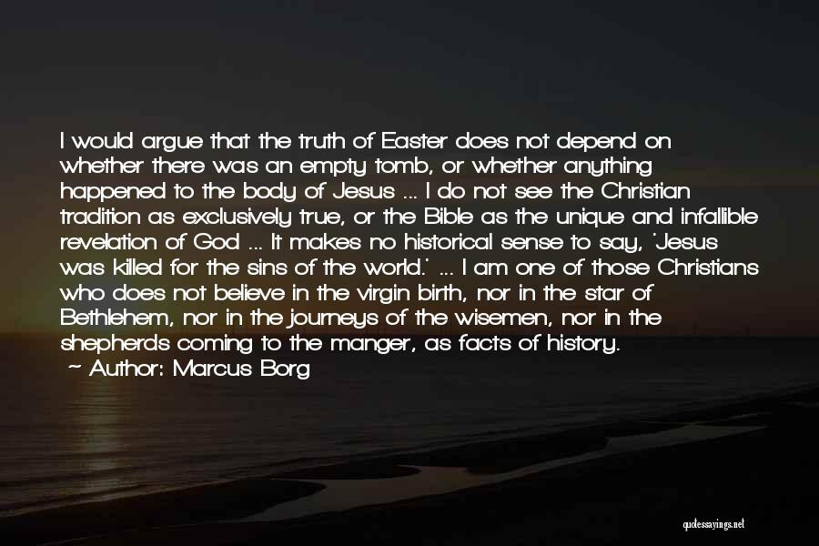 Jesus Manger Quotes By Marcus Borg