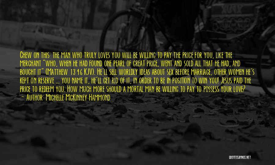 Jesus Redeem Quotes By Michelle McKinney Hammond