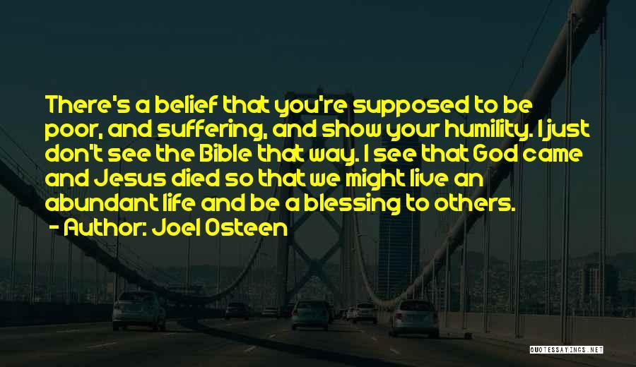 Jesus Suffering Bible Quotes By Joel Osteen