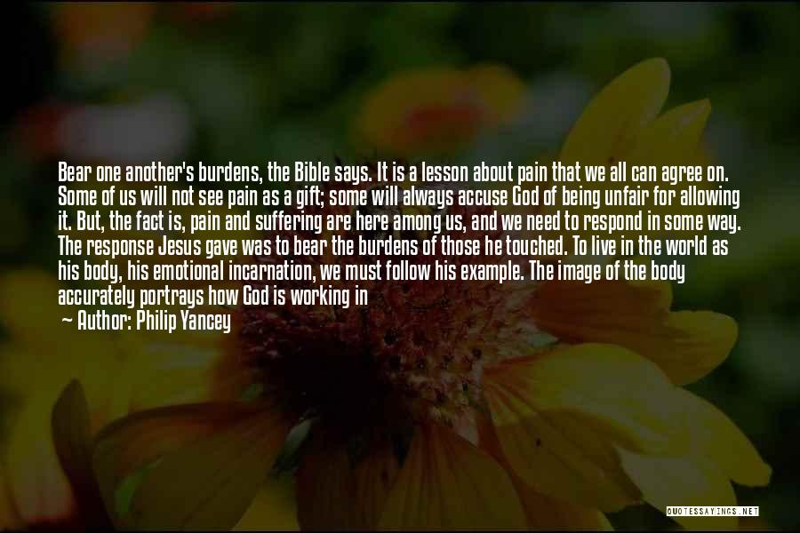 Jesus Suffering Bible Quotes By Philip Yancey