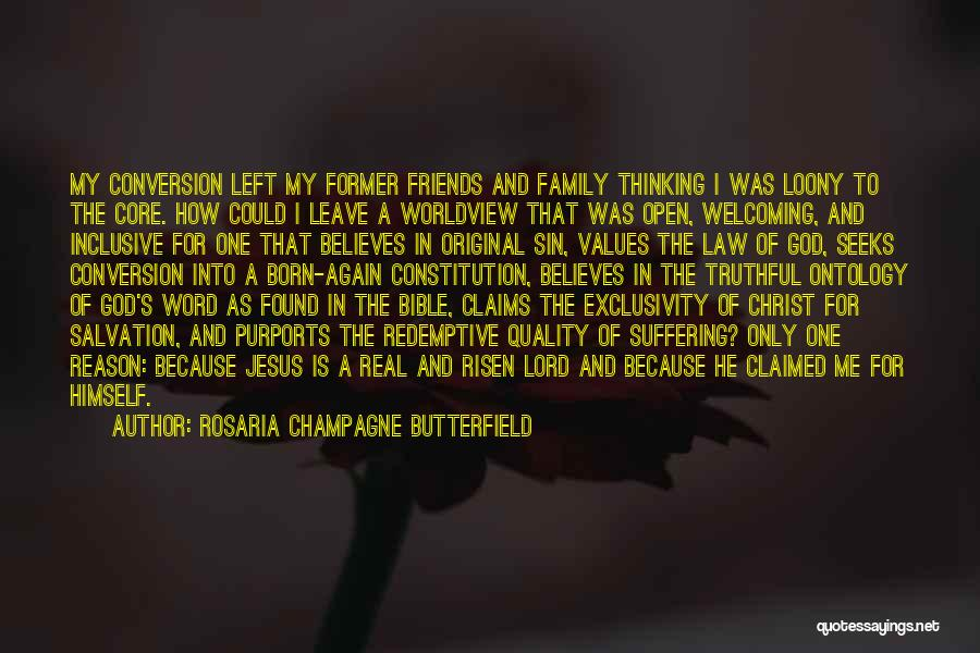 Jesus Suffering Bible Quotes By Rosaria Champagne Butterfield