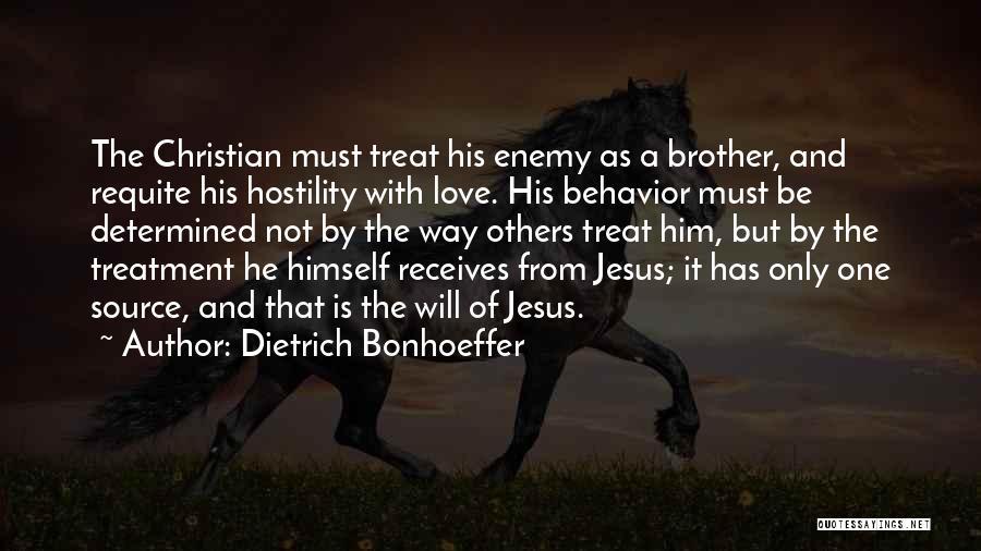 Jesus The Way Quotes By Dietrich Bonhoeffer