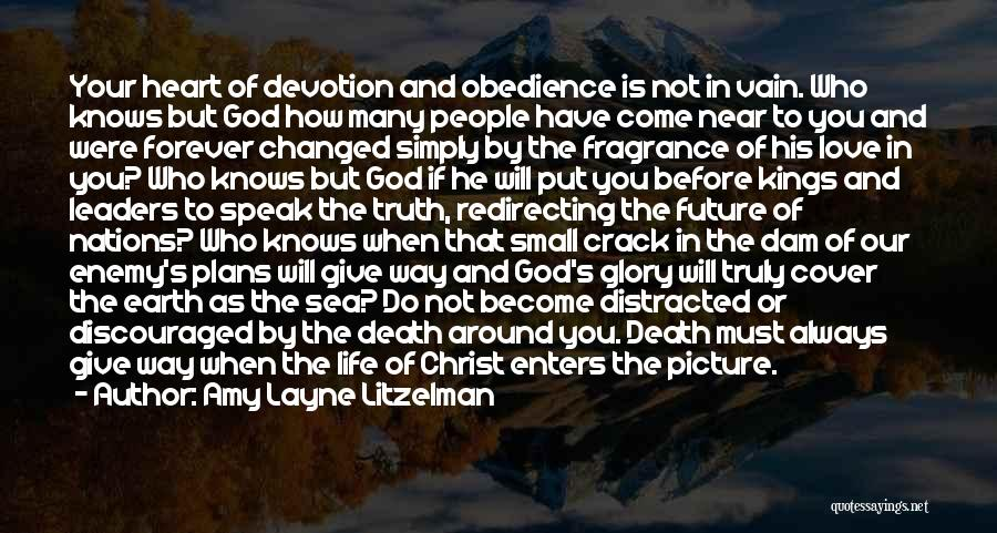 Jesus With Picture Quotes By Amy Layne Litzelman