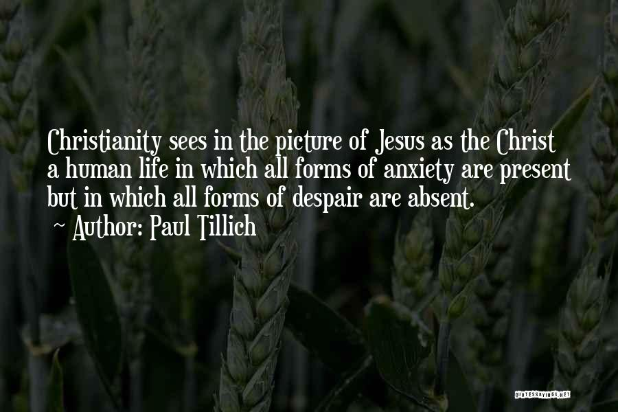 Jesus With Picture Quotes By Paul Tillich